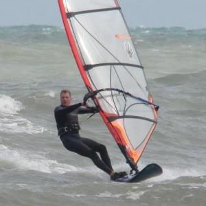 Bob Windsurfing