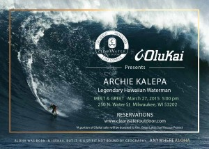 Clear Water Outdoor Anywhere Aloha 2015